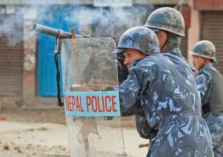 Riot Police – Patan, Nepal