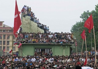 Maoist Mass Meeting – Kathmandu